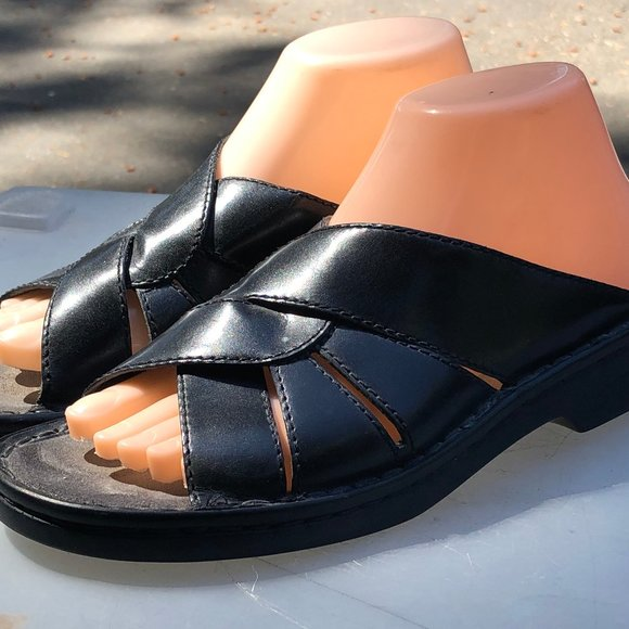 clarks Shoes | Womens Black Leather